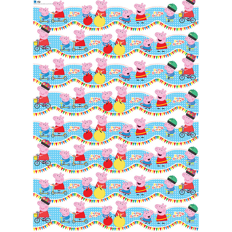 Character Wrapping Paper Peppa Pig 3m Gift Wrap