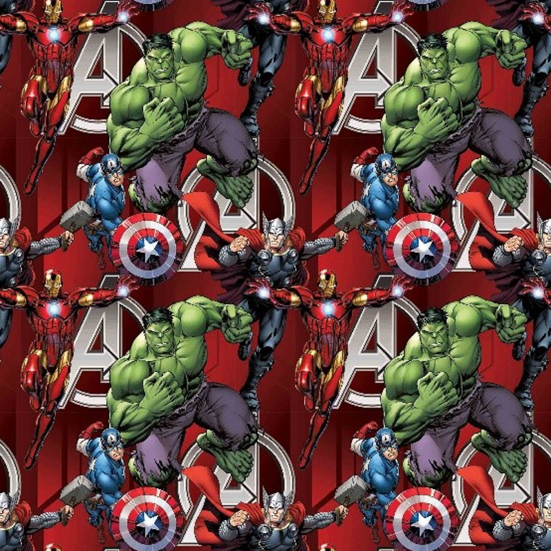 Character Wrapping Paper Avengers 3m Gift Wrap B Amp M