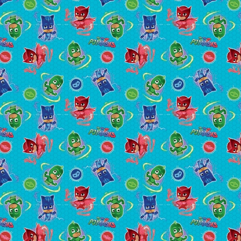 285413 Pj Masks Wrapping Paper