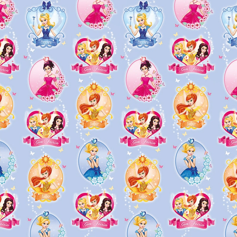 Character Wrapping Paper Princess 3m Gift Wrap B Amp M