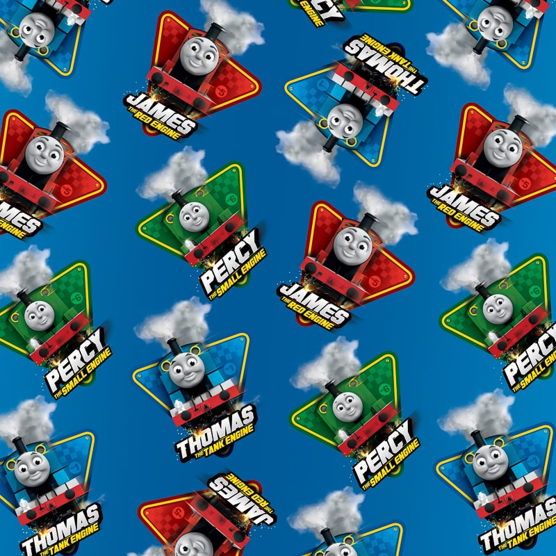 Character Wrapping Paper Thomas The Tank Engine Wrap B Amp M