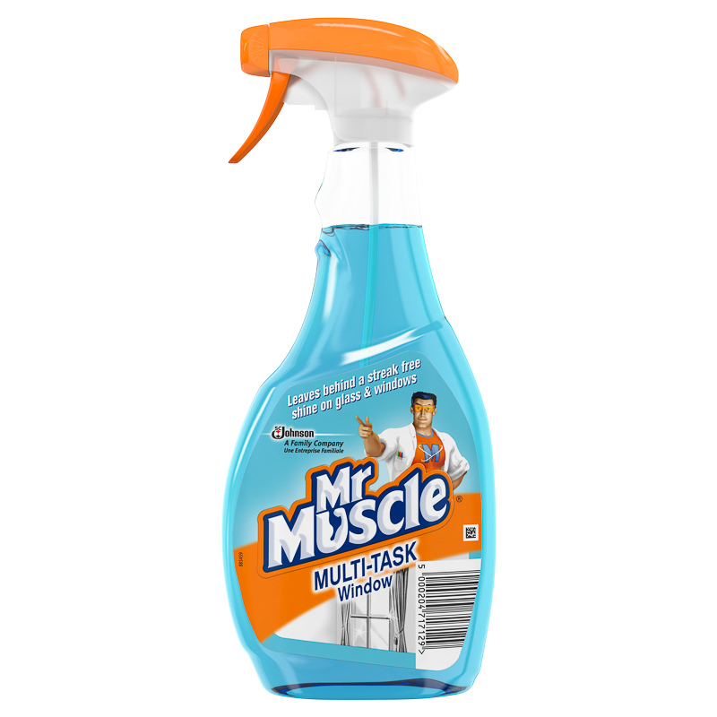 Mr muscle window cleaner 500ml household cleaning for Window cleaner