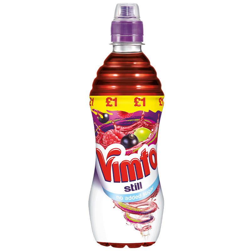 Vimto No Added Sugar Fruit Juice 500ml | Soft Drinks - B&M