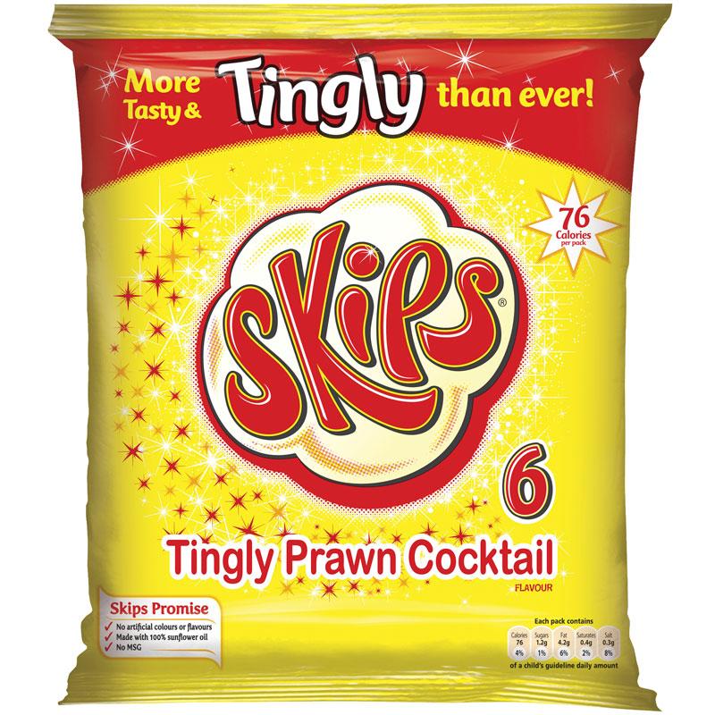 Skips Crisps 6pk Crisps Snacks