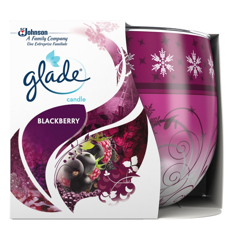 Glade Scented Candle - Blackberry