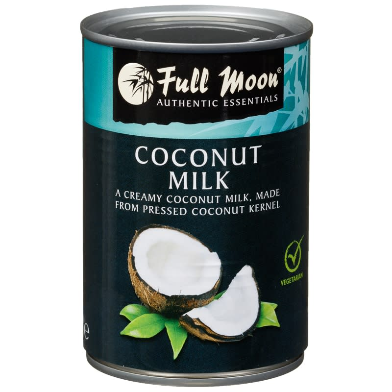 how to drink canned coconut milk