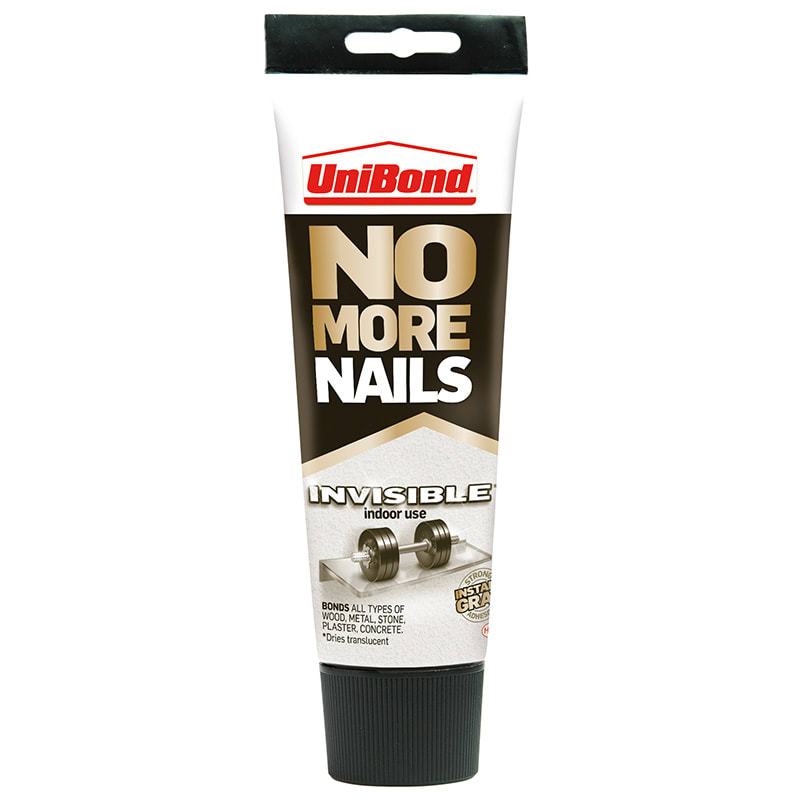 UniBond No More Nails Invisible 184g | DIY | Adhesives - B&M