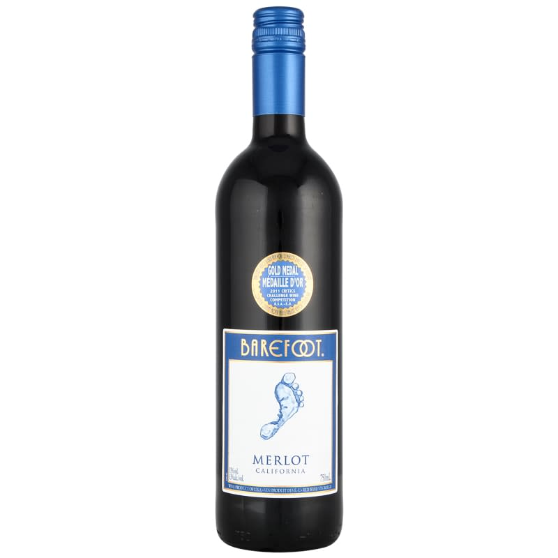 Barefoot Merlot California Red Wine 75cl