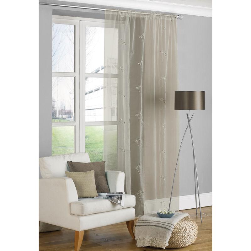 allium embroidered voile. Black Bedroom Furniture Sets. Home Design Ideas
