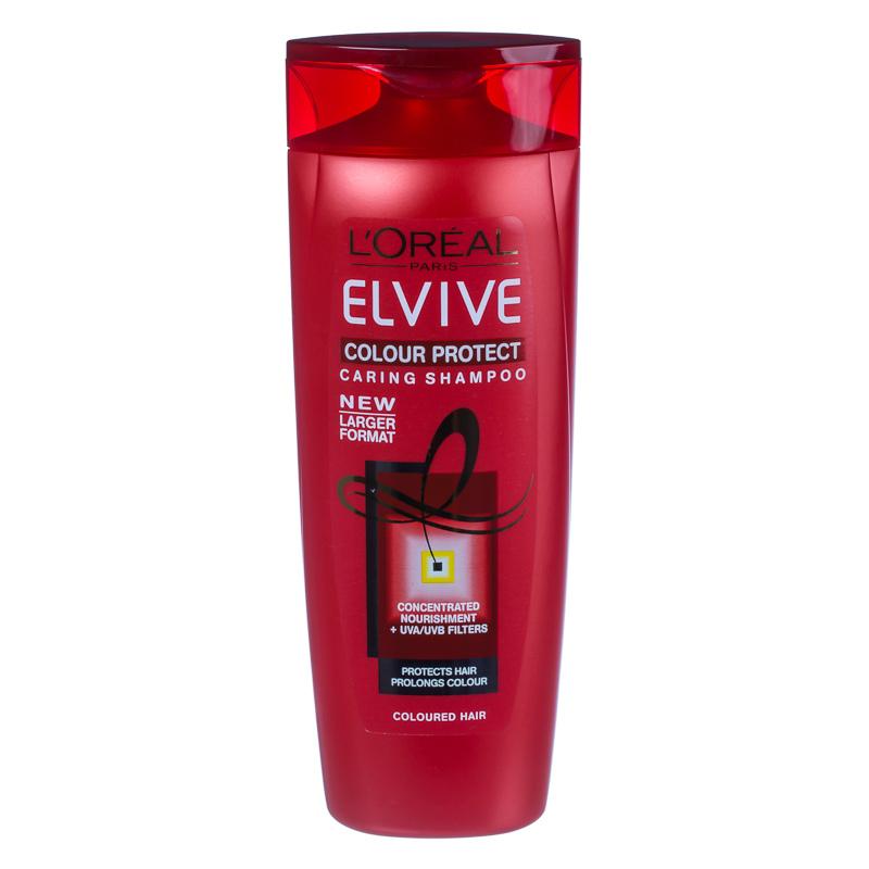 B&M L'Oreal Elvive Colour Protect Caring Shampoo 500ml ...