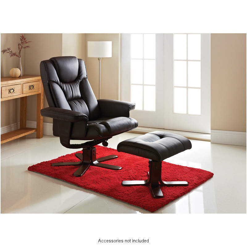 B Amp M Sorrento Recliner Chair With Footstool 288397