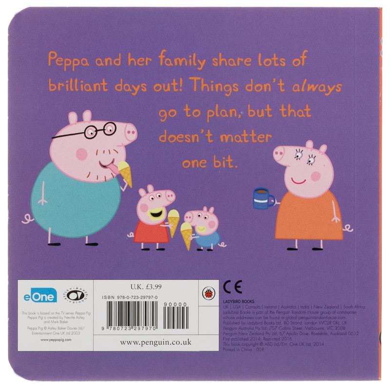 Peppa Pig Mini Board Book Out About Books B M
