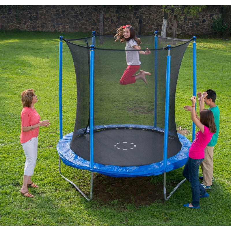 Trampoline Springs B Q: Trampoline & Enclosure 8ft