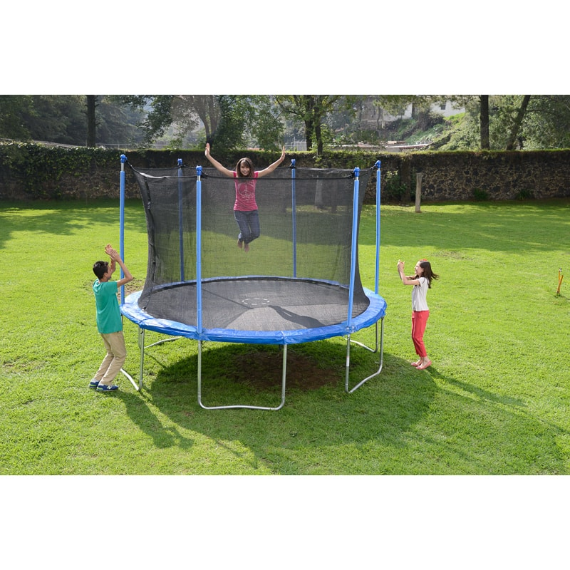 Trampoline Springs B Q: Trampoline & Enclosure 12ft