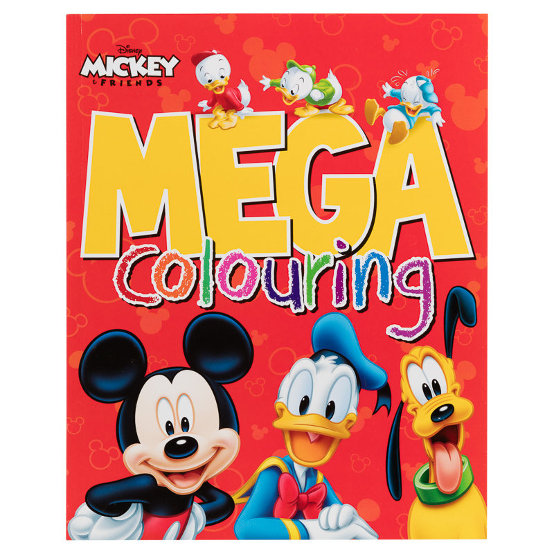 Mega Colouring Books Mickey Mouse