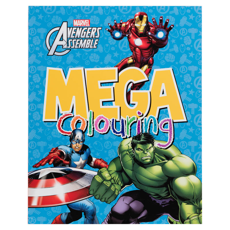 Mega Colouring Books - Avengers | Kids Arts & Crafts, Books