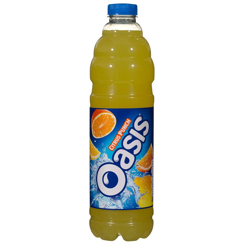 Oasis Citrus Punch Juice Drink 1.5L | Orange Juice, Drink Oasis Juice Logo