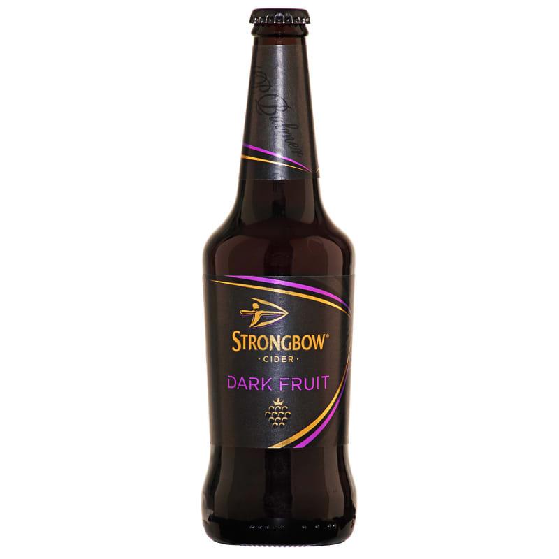 ... Food & Drink Drinks Alcohol Cider Strongbow Dark Fruit Cider 500ml