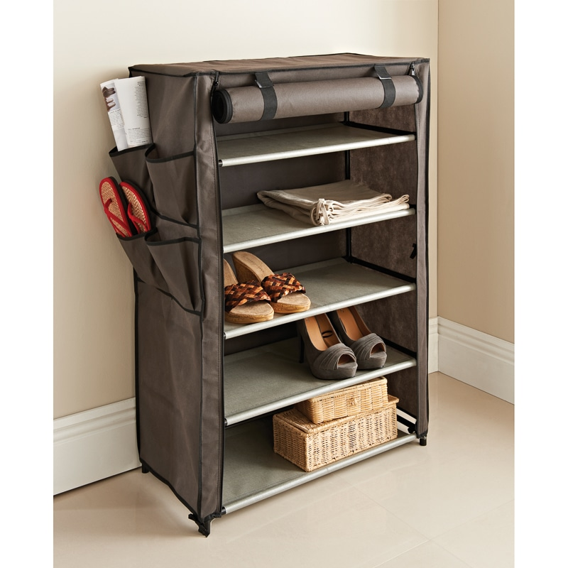 Canvas Storage Unit | Home | Shelving - B&M