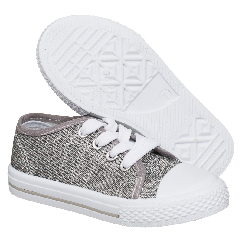 b m gt toddler glitter canvas shoes grey 2893292
