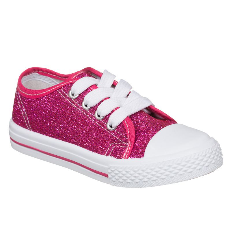 b m gt toddler glitter canvas shoes pink 2893291