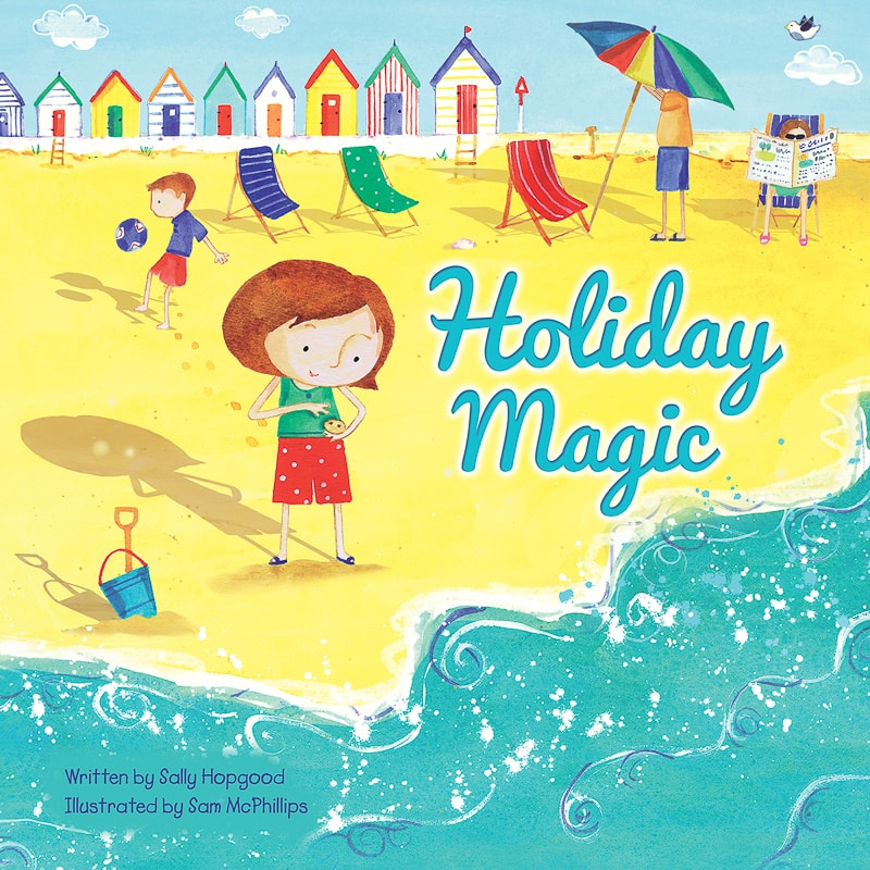 story books magic holiday children holding friends tales