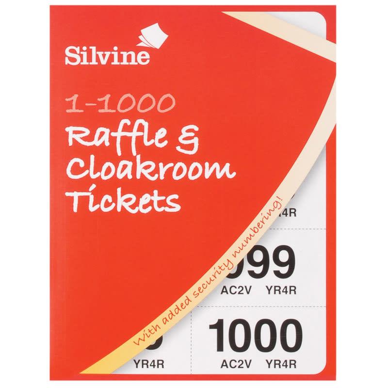 b u0026m raffle  u0026 cloakroom tickets