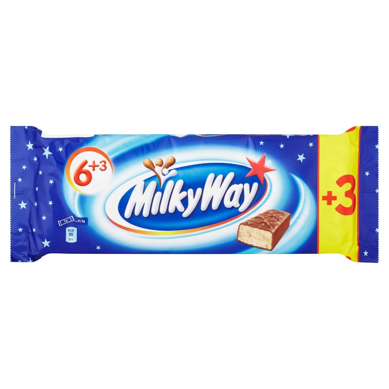 Milkyway Bars 9pk Chocolate Bars Chocolate Multipack B Amp M