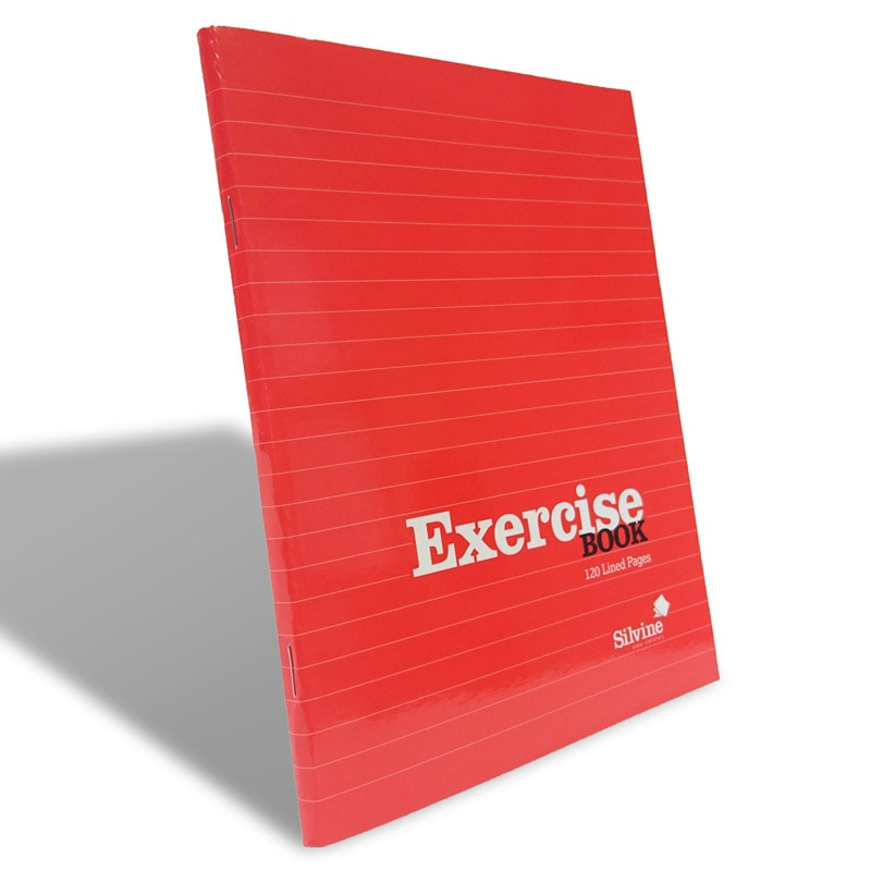 Exercise Book Cover Paper : Silvine exercise book a stationery notebooks b m