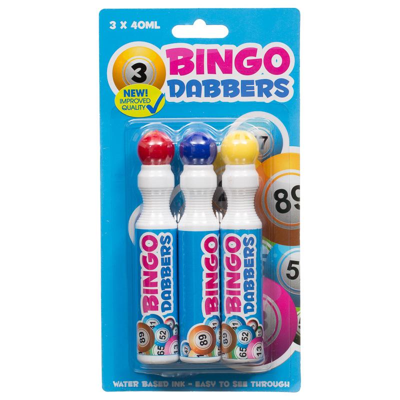 B Amp M Bingo Dabbers 3pk 289966