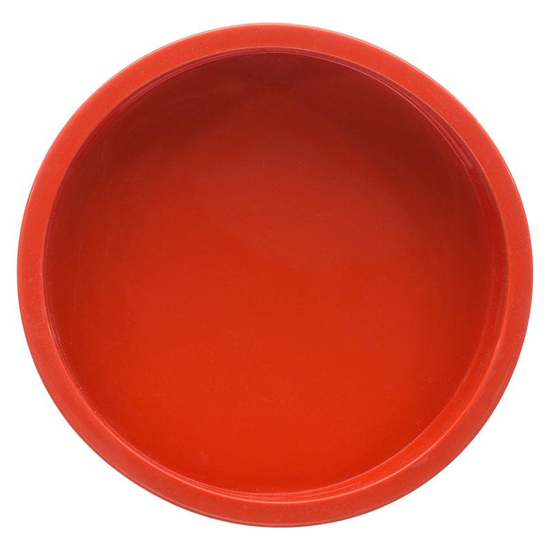 B&M: > Silicone Round Baking Tray - 290195