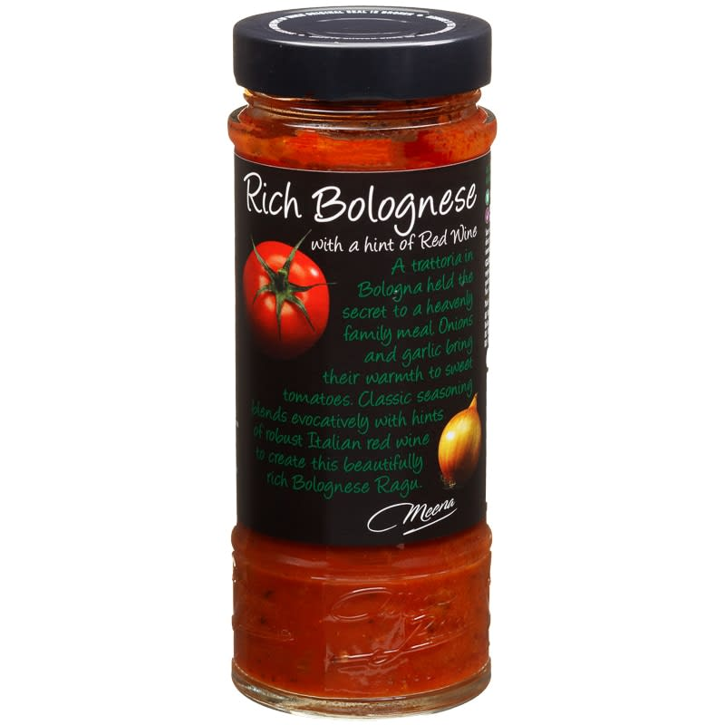 Meena Rich Bolognese Sauce 425g Groceries B Amp M
