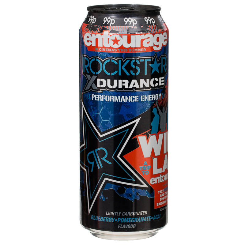 Rockstar Punched Blueberry Pomegranate Amp Acai Energy Drink