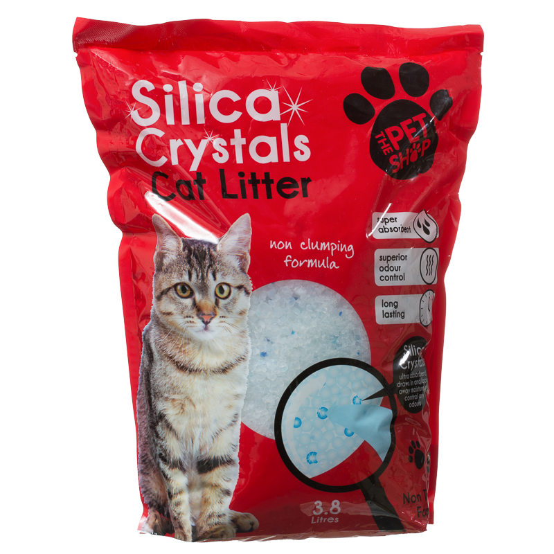 Silica Crystals Cat Litter