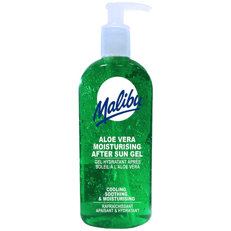 Malibu Aloe Vera After Sun Gel 400ml After Sun Lotion B Amp M