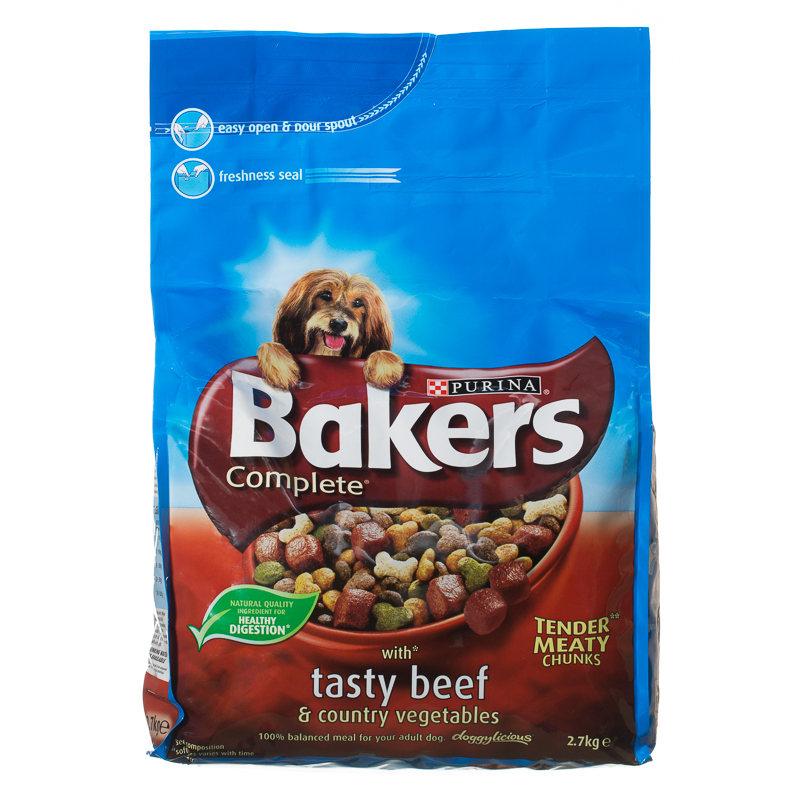 Big Bags Of Bakers Dog Food