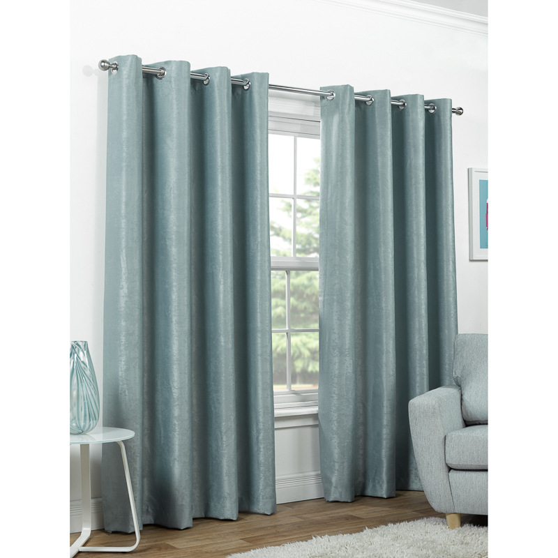 b m valencia textured premium blackout eyelet curtain 46 x. Black Bedroom Furniture Sets. Home Design Ideas