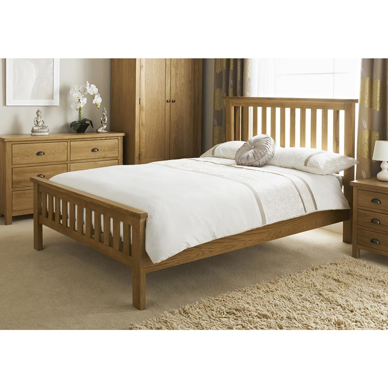 B m wiltshire double bed 319198 b m for Cheap double beds