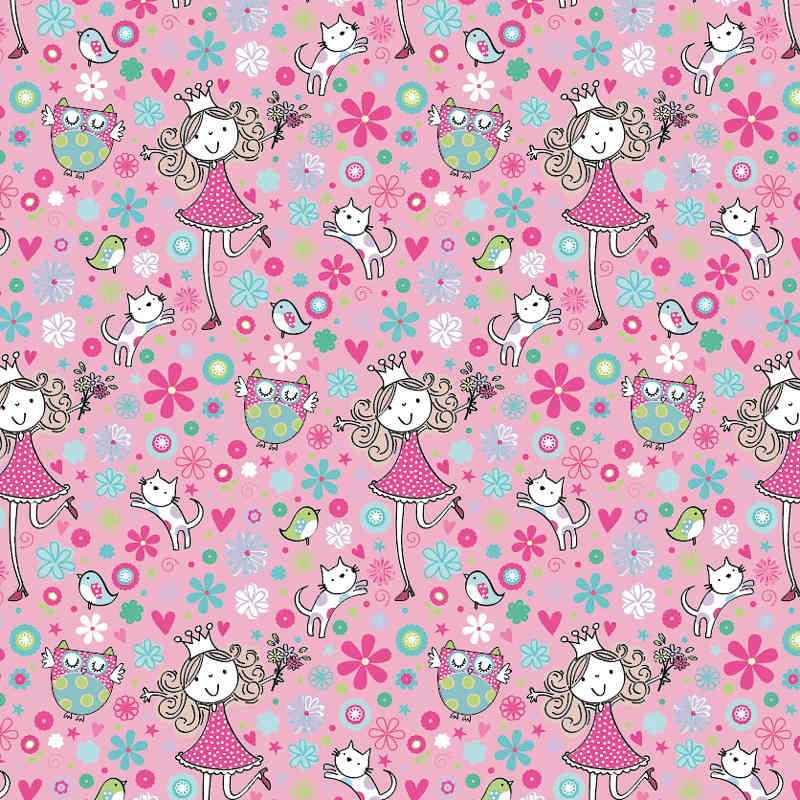 Kids Wrapping Paper - 3m - Natural Fairy | Gift Wrap
