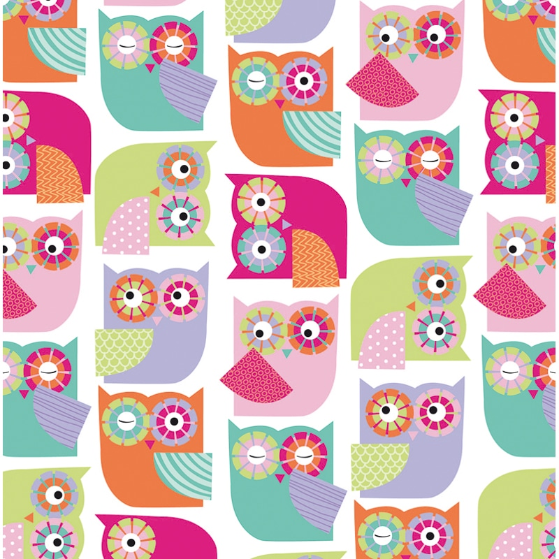 Kids Wrapping Paper - Owls - 3m | Gift Wrap
