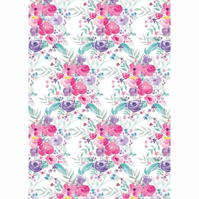 Everyday Wrapping Paper Floral 3m Gift Wrap
