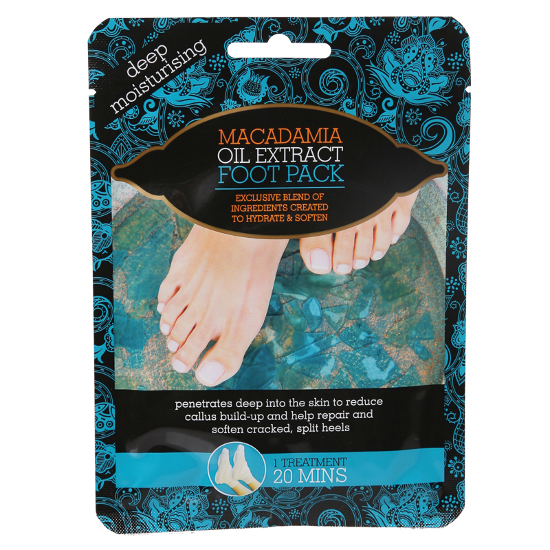 Macademia Oil Extract Foot Pack