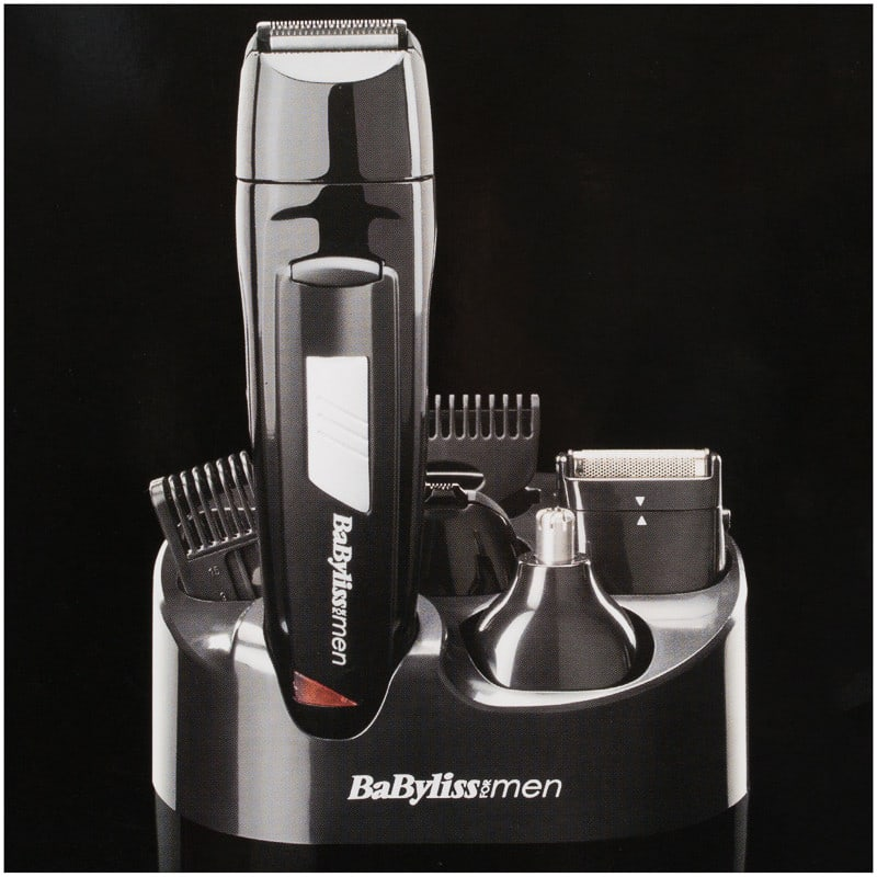 Babyliss 8 In 1 Kit Hair Removal Mens Shaving Razor