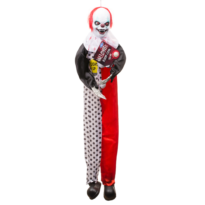 B m halloween animated blooded clown 292359 for B m halloween decorations