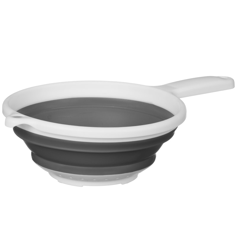 Collapsible Colander - Grey