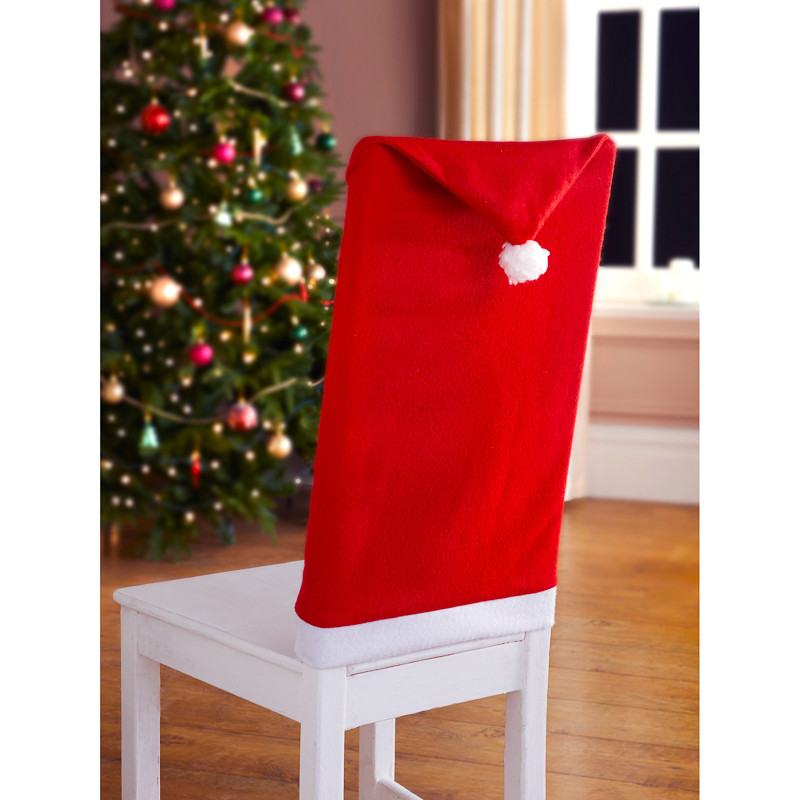 Top 28 santa chair cover b m santa s hat chair covers for B m christmas decorations