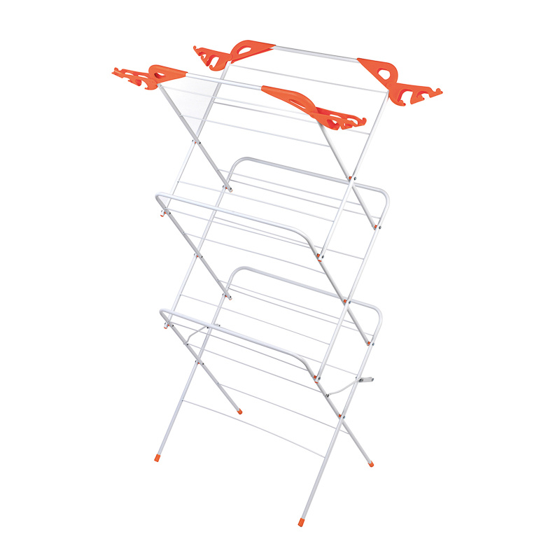 b u0026m beldray 3 tier clothes airer with hooks