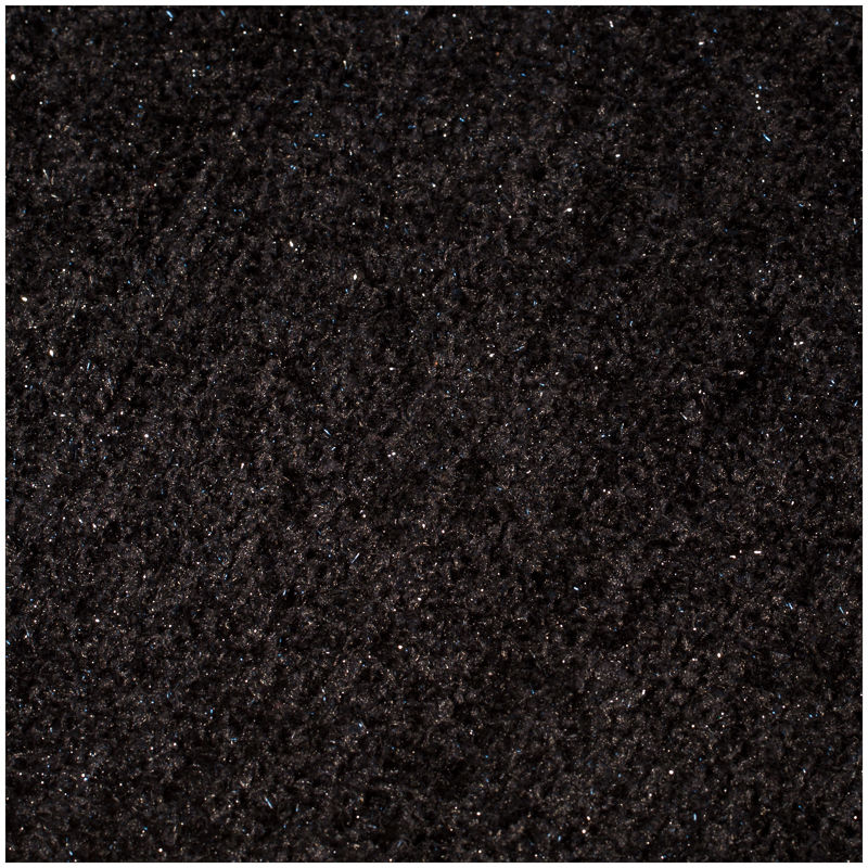 Glitter Shag Shaggy Furry Fluffy Fuzzy Sparkle Soft Modern Contemporary Thick Plush Soft Pile Black Charcoal Two Tone Area Rug Carpet Bedroom Living Room 8x10 Sale Discount (Harmony Black) by LA Rug Linens.