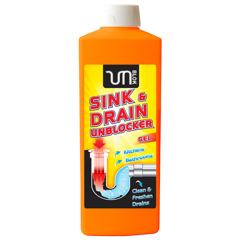 Kitchen Sink Unblocker: B&M Sink & Drain Unblocker Gel 1L - 293474
