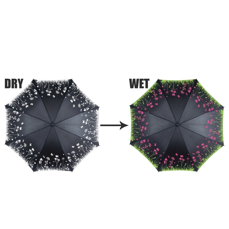 Colour Changing Umbrella Floral Umbrellas B Amp M
